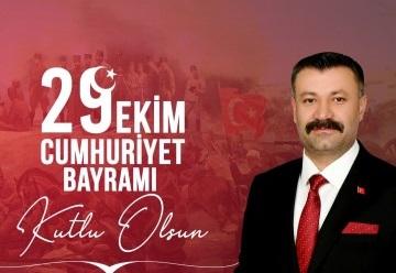 Sayık'tan Cumhuriyet Bayramı mesajı