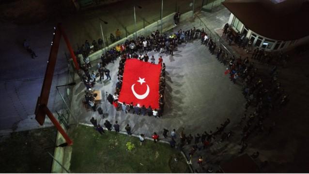 Yurttaki öğrencilerden Barış Pınarı Harekatı'na destek