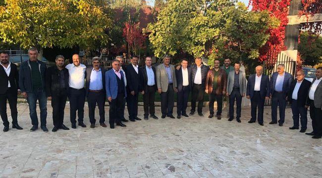 AK Partili Eski başkanlar toplandı