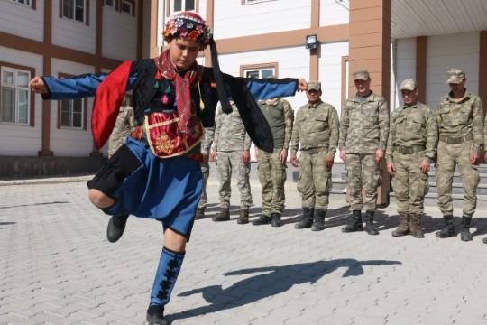 Akçakale'deki askerlere