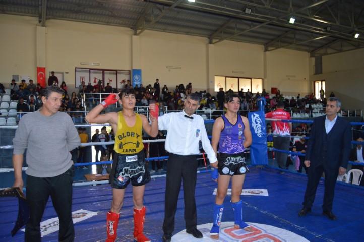 Besnili şehitler Anısına Muay Thai Şampiyonası