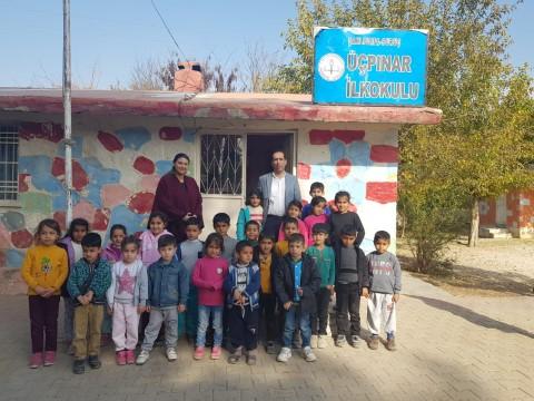 Görevlendirme yapılan Suruç Belediyesinden eğitime destek