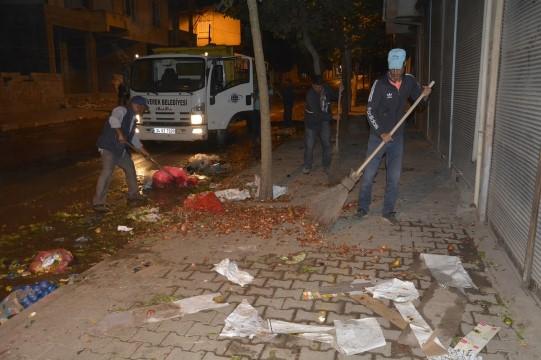 Siverek Belediyesi şehri adım adım temizliyor