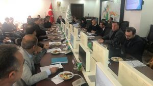 Su ve Havza yönetimi koordinasyon kurulu toplandı.