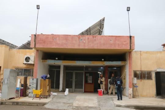 Tel Abyad Hastanesi ayağa kaldırılıyor