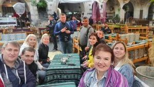 Ukraynalılar Urfa'ya hayran kaldı