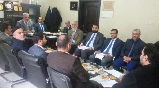 Aralık ayı İlçe Müftüleri Toplantısı yapıldı.