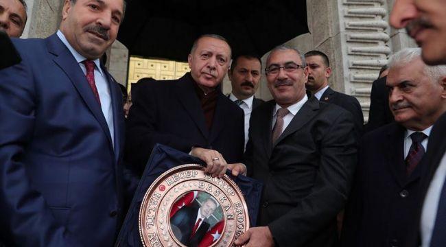 Ataş Çiftçilerin sorunun Erdoğan'a iletti