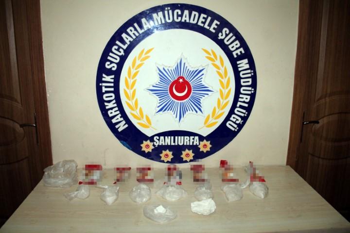 Bisküvi paketlerine saklanan kokain ele geçirildi