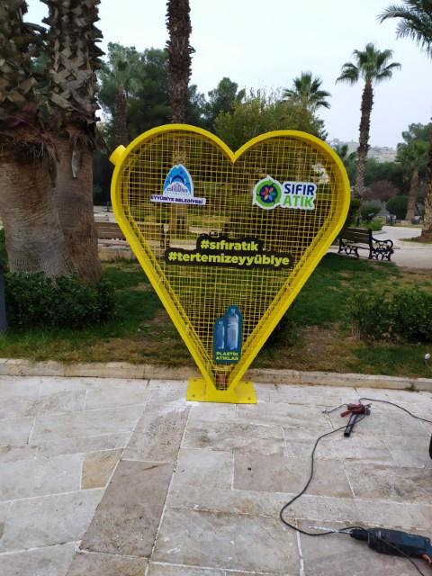 Eyyübiye belediyesi 'sıfır atık projesi' ile tasarruf sağlıyor.