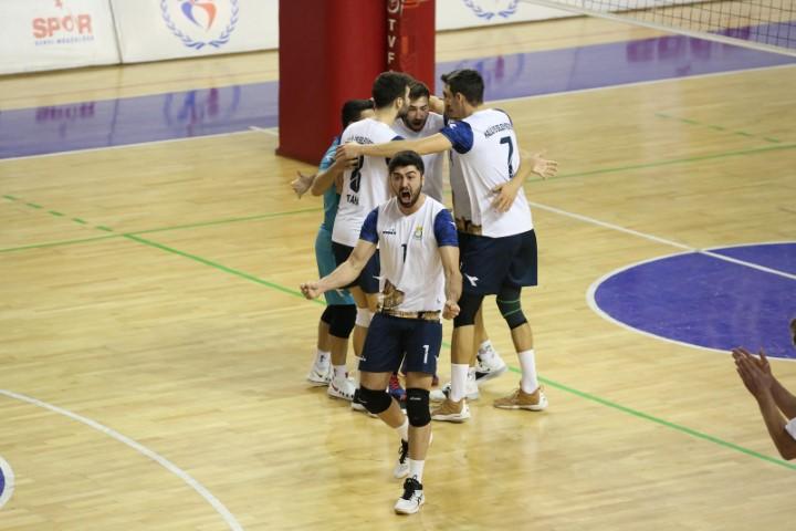 Haliliye Belediyespor galibiyet serisini 7'ye çıkardı (Video)