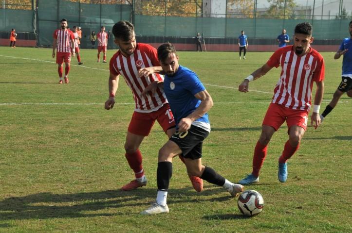Karaköprü Belediyespor 3 puanı tek golle aldı(Video)