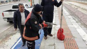 Şanlıurfa'da leylek kurtarma operasyonu