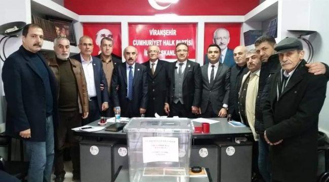CHP Viranşehir ve Ceylanpınar'da kongre yaptı