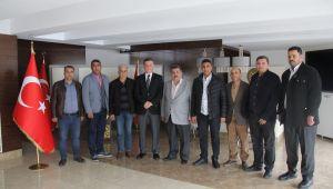 Gazetecilerden Emniyet müdürü Selçuk Doğuş'a ziyaret