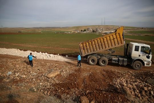 Haliliye belediyesi çalışmalara ara vermiyor (Videolu Haber)