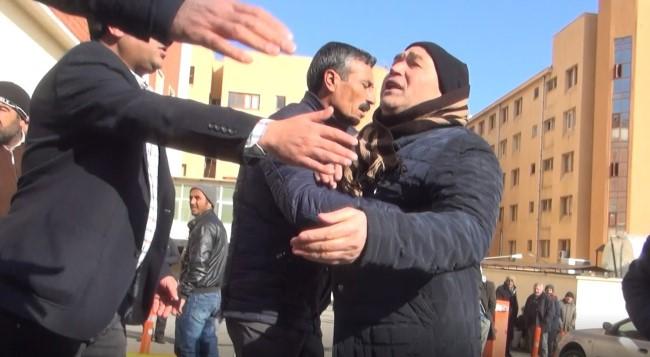 Ölen damadın yakınları basın mensuplarına saldırdı