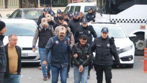 Şanlıurfa'da bombalı araç ile ilgili gözaltına alınan 11 zanlı adliyede