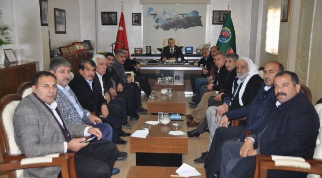 Şanlıurfa Ziraat Odası Meclisi toplandı