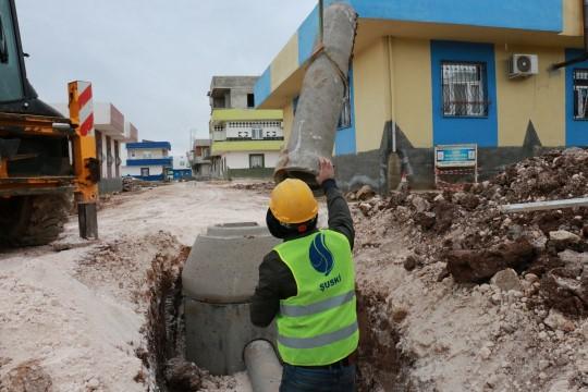 Viranşehir kanalizasyon projesi başladı (Videolu Haber)