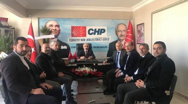 Altun'dan CHP'ye ziyaret
