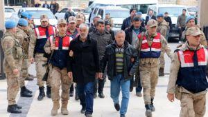 Gözaltına alınan 16 terör zanlısı adliyeye sevk edildi