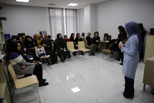Haliliye belediyesinden kadınlara eğitim (Videolu Haber)