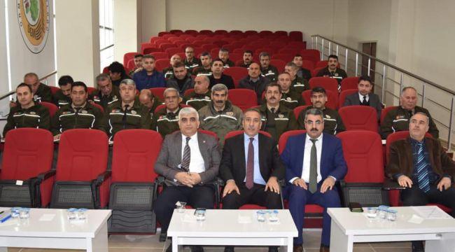 Orman Muhafaza memurlarına seminer