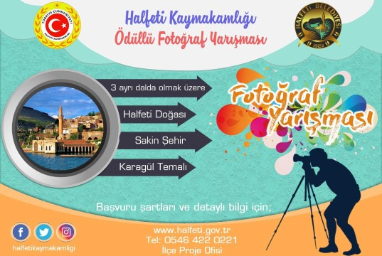 Sakin Şehir Halfeti'de ödüllü fotoğraf yarışması