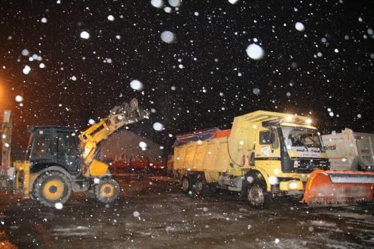 Şanlıurfa'da kar alarmı