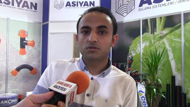 Tarım fuarında Asiyan sulama sistemlerine yoğun ilgi (video)
