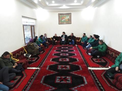 Yeşilay Şanlıurfa şubesinden Dumansız köye ziyaret