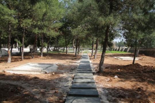 Harran'da yeşil alan sayısı artıyor