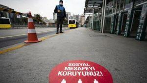 Sosyal mesafeyi ihlal eden 30 kişiye para cezası