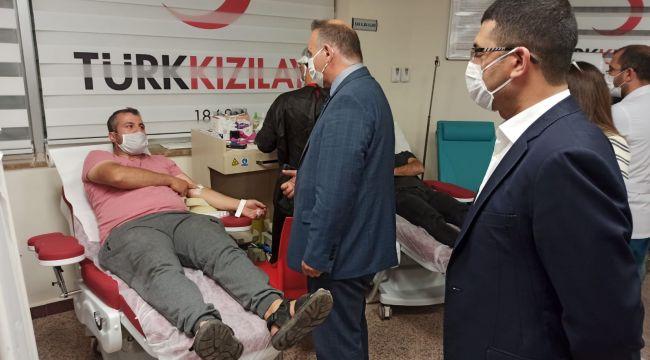Kan verme kampanyasına destek