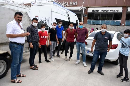 Kıbrıs'ta mahsur kalan işçiler memleketlerine ulaştı