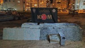 Şanlıurfa'da 30 bin paket kaçak sigara ele geçirildi
