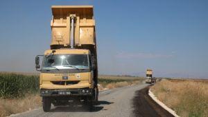 Şanlıurfa Büyükşehir Kırsal Yolların Kalitesini Artıyor (video)