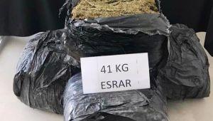 Şanlıurfa'da 41 kilo esrar ele geçirildi
