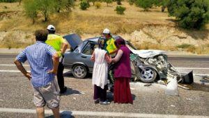 Mevsimlik işçiler kaza yaptı: 1'i ağır 4 yaralı