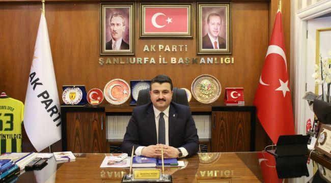 AK Parti il Başkanı Yıldız'dan bayram mesajı