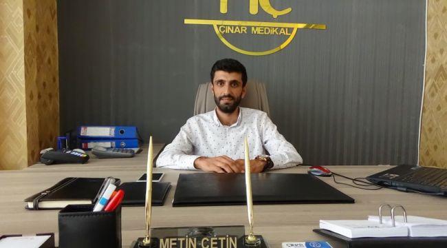Çınar Medikal Şanlıurfa'da Medikal sektörüne yenilik kattı (video)