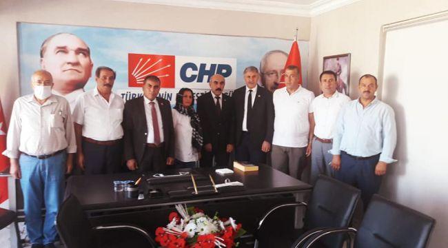 DYP'den CHP İl Başkanlığına ziyaret