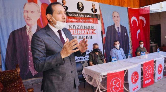 MHP Siverek ilçe kongresi yapıldı