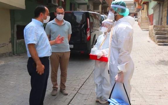 Şanlıurfa'da sağlık çalışanları bayramda da görev başında (Videolu Haber)