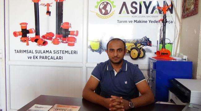 Şanlıurfa'dan 14 ülkeye Asiyan sulama sistemleri ihraç ediliyor (Video)