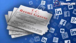 Sosyal Medya kanunu yürürlüğe girdi.