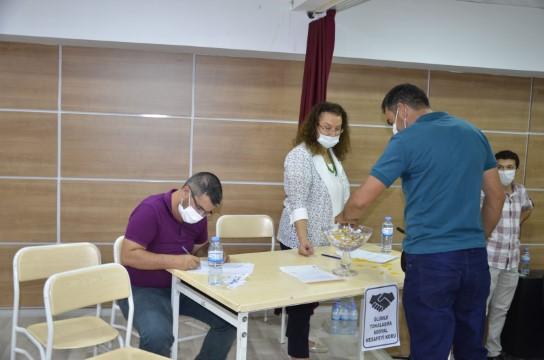 Halfeti'de 50 kişilik temizlik görevlisi alımı için kura yapıldı
