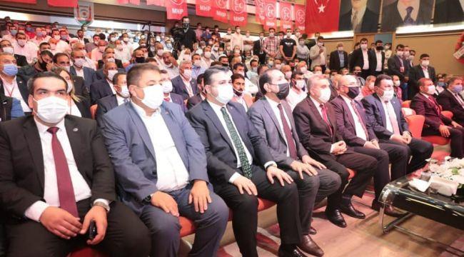 MHP Şanlıurfa İl kongresi yapıldı.