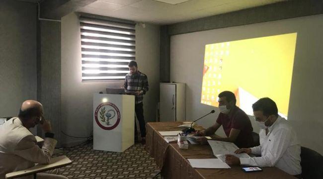 Şanlıurfa 27.bölge Eczacı odası mali kongresi yapıldı